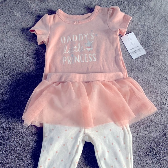 Carter's Daddy's little princess outfit